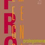 Prolegomena (1/2011)